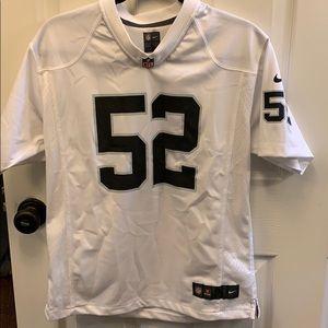 NFL Khalil Mack Raiders jersey